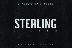 STERLING, A Powerful Sans Serif Product Image 1