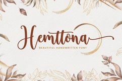 Hemttona Script Product Image 1