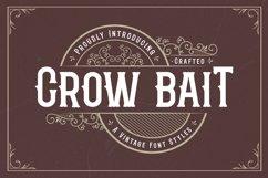 Crow Bait - A Vintage Font Style Product Image 1