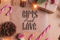 Christmas Hat Font | merry christmas font Product Image 5