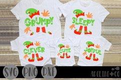Christmas family shirt bundle, SVG, PNG, DXF Product Image 3