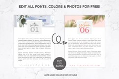 Workbook Template for Canva   eBook   Lead Magnet   Linen Product Image 6