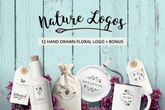 Nature & floral logos + BONUS Product Image 1