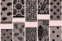 Lace pattern procreate brushes Product Image 5