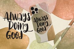 Aghnie - Handlettering Font Product Image 5