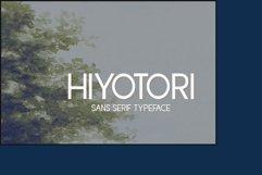 Hiyotori  3 Style Font Product Image 1