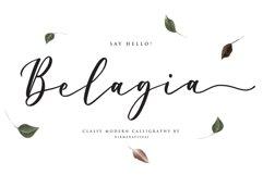 Belagia - Classy Calligraphy Product Image 1