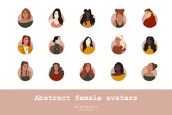 Abstract female avatars Product Image 1