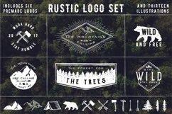Rustic Logos & Illustrations vol. 1 AI PNG Product Image 5