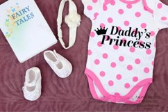 Daddy's Princess Svg, Cute Quote Product Image 2