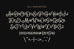Brass heart font Product Image 3
