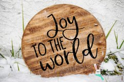 Christmas SVG Word Rounds Bundle - 10 designs Product Image 4