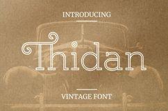 Web Font Thidan Font Product Image 1