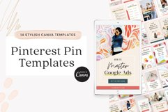 Pinterest Pin Template for Canva Product Image 1