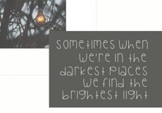 Bright Lights - A Cute Handwritten Font Product Image 3