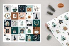 Christmas Art illustration, Nursery art Product Image 11