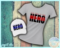 My Neice Is My Hero Quote Svg Dxf Eps Png Pdf Product Image 2