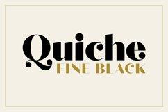 Quiche Fine Black Font Product Image 1