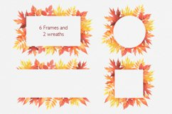Hello Autumn watercolor collection Product Image 2