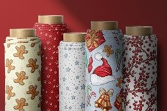 Xmas Vector Seamless Patterns Product Image 3