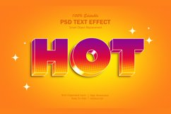 3D Hot Text Effect Product Image 1