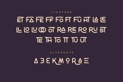 Tropikana Monoline Vintage Typeface Product Image 4