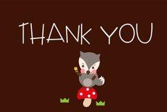 Little red riding hood Handwritten- cute kid font Kawaii Product Image 6