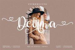 Deirma - Beautiful Script Font Product Image 1