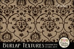 Burlap Background Textures - Rustic Burlap Backgrounds Product Image 4