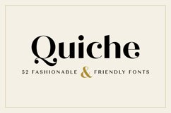Quiche Font Family Product Image 1