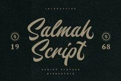 Salmah Script Product Image 1