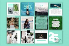 Mint   Instagram  stories templates Product Image 3