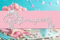 Unicorns - A Unicorn Name Maker Font Product Image 2