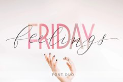 Friday feelings. Font duo. Product Image 1