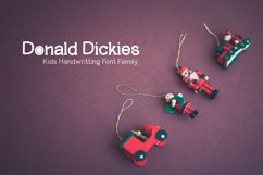 Donald Dickies Family font Product Image 5