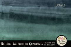 Watercolor Background Textures - Natural Gradient Papers Product Image 3