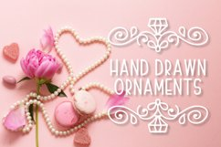 Ornament Font - The Perfect Accessory to Your Designs!  Product Image 1
