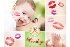 30 Lips Photo Overlays Product Image 1