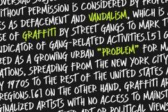 Clint Marker - Graffiti Font Product Image 4