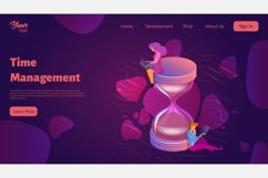 Time management. Landing page headers Product Image 8