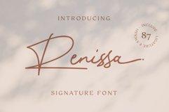 Renissa Signature Font Product Image 2