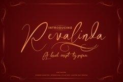 Revalinda Stylist Scripts font Product Image 2