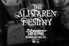 The Alistaren Font Product Image 1