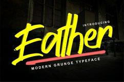 Eather | Modern Grunge Typeface Product Image 1