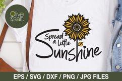 Sunflower svg bundle, sunshine svg bundle, motivational svg Product Image 6