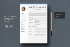 Creative Resume Template CV Product Image 2