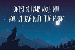 Web Font Nightfall - Cute Monoline Font Product Image 4