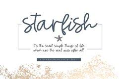 Starfish - Handwritten Script Font Product Image 1