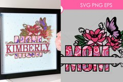 42 Split Family Monogram SVG Mega Bundle Layered Monogram Cu Product Image 3