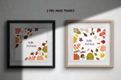 Hello autumn. Collection of vector elements and pattern Product Image 4